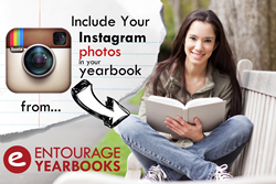 Include Instagram Photos in your Yearbook with Entourage Yearbooks