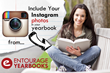 Entourage Yearbooks Launches Instagram Integration