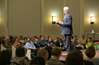 Mike Breen, founder of 3DM (Three Dimensional Movements) and an international pioneer in discipleship. More than 500 people attended the event. (Memories Matter Photo)