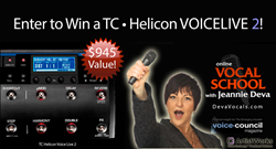 tc helicon voicelive 2 giveaway