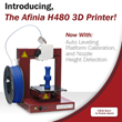 Afinia Announces the H480 Desktop 3D Printer