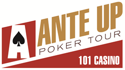 Ante Up Poker The 101 Casino logo