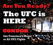 Condor Club to Screen UFC Fight