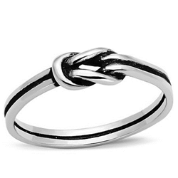 Inspired Silver Infinity Ring