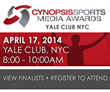 Announcing the Third Annual Cynopsis Sports Media Awards Finalists for...