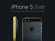 GineeX Studio Announces Gold-plated, Limited Edition iPhone 5s