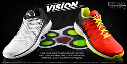 Get High, Go Low; First APL Low Top Basketball Shoe With Patented Load 'N Launch Technology