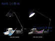LIGHTUP LED Introduces Its New LED Table Lamps for the Global Market