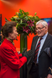 Harry Patterson with HRH The Princess Royal, Chancellor of the University of London