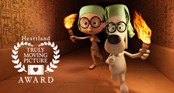 © 2013 DreamWorks Animation LLC. All Rights Reserved. MR. PEABODY & SHERMAN TM AND © Ward Productions.