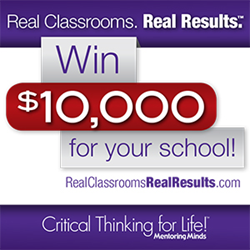 Real Classrooms. Real Results. Contest from Mentoring Minds
