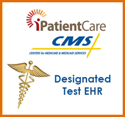 iPatientCare EHR Selected as one of the CMS Designated Test EHR