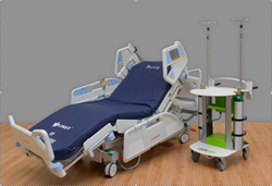 Multicare bed frame and LIVENGOOD Medical PACE Platform