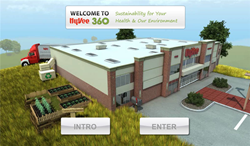 Website created by QA Graphics dedicated to sustainability and healthy living.