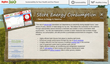 Sustainable website created by QA Graphics describes store's Responsible Choice Seafood.