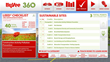 Sustainable Building Dashboard illustrates store's LEED checklist.