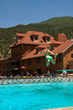 The Glenwood Hot Springs Pool is a fun place to spend a spring day