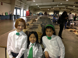 4H Participants with Poultry at the Fair