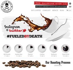 Death Wish Coffee Company New Site