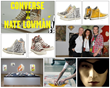 Nate Lowman x Converse shoes