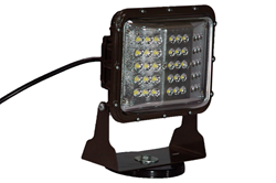 Magnetic Mount LED Flood Light that draws 0.5 amp at 120 VAC