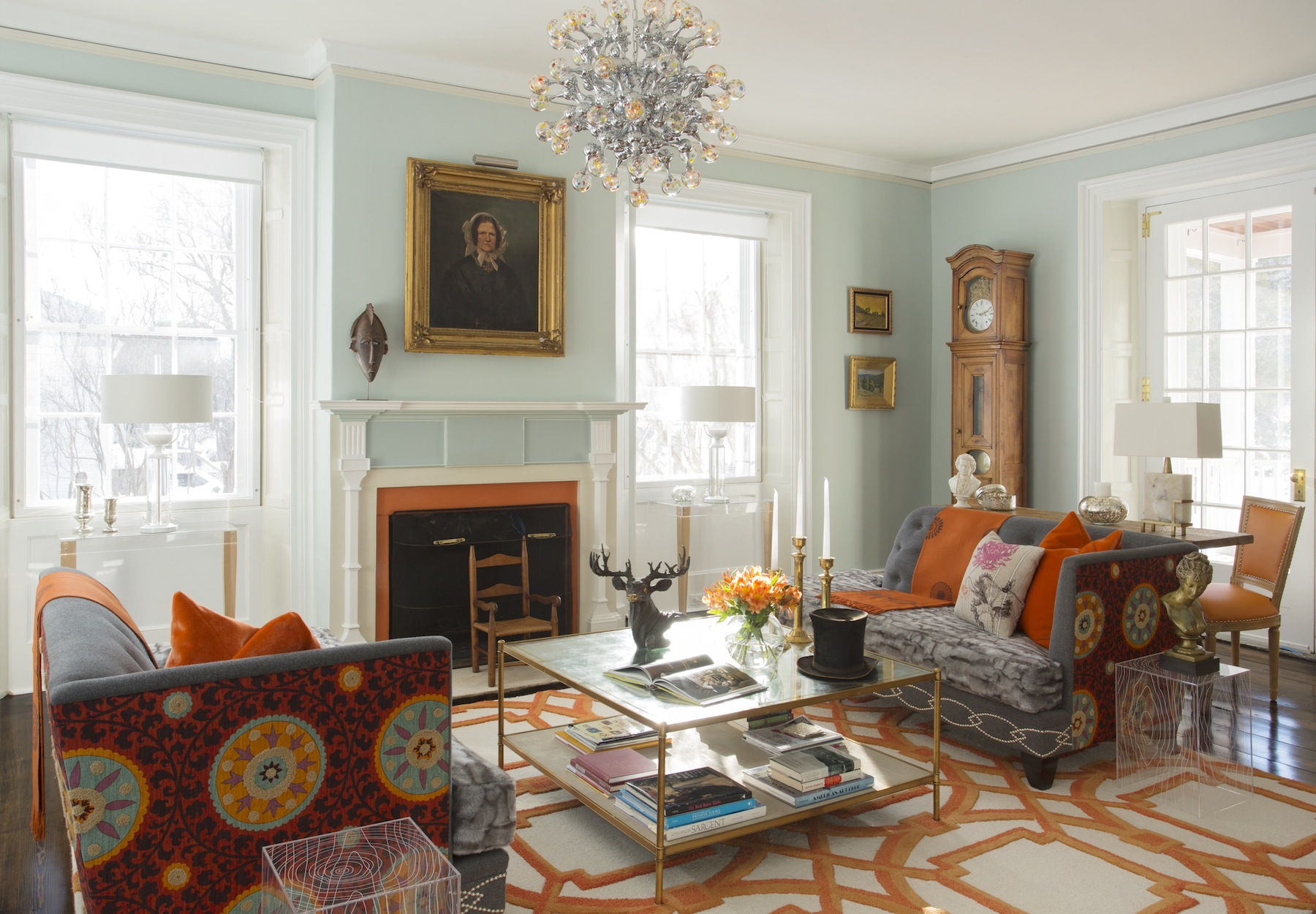 Interior designer steven favreau of favreau design to be - Federal style interior decorating ...