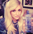 KESHA drinks REAL WATER®