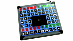 Illuminated X-Keys with 68 Keys and Central Joystick