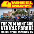 Mint 400 Off-Road Vehicle Parade Sponsored by 4 Wheel Parts