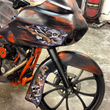 Custom Motorcycle Painting for Harleys and Baggers in Dallas TX by...