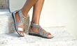 Comfortview Energy Flex Alicia Woven Sandals at JessicaLondon.com