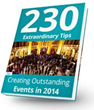 230 Event Planning Tips Released in Extraordinary IdeaBook by MARCO...