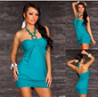 2013 New 5 Colors Fashion Ladies Bare Shoulder Sexy Clubwear Dresses