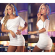 Sexy Black and White Club Dresses For Women