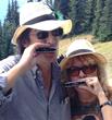 Dana and Mary Lou Keller using Pulmonicas