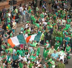 St. Patricks Day Parade Safety