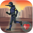 BattleSuit Runner Fitness™ Is A New Super-Immersive GPS Running Game...