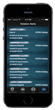 Bar Shield™ App Violations List Screenshot