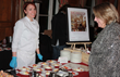 Morello chef Amanda Atkinson serves yogurt panna cotta at Greenwich Hospital's annual Great Chefs fundraiser.