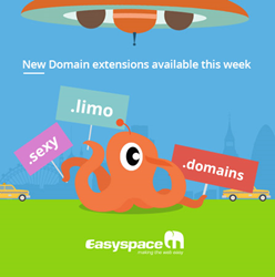 New domains from Easyspace