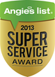 "Security One Earns Esteemed 2013 ""Angie's List Super Service..."