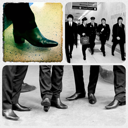 Cavern Club Beatles wearing Atom Retro Chelsea Boots