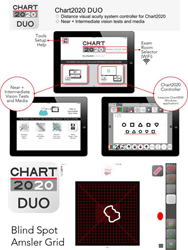 New Blind Spot Amsler Grid for Chart2020 DUO iPad App