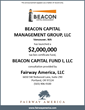 Fairway America's Client Beacon Capital Management Group Launches Its...