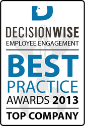 DecisionWise 2013 Employee Engagement Best Practice Awards