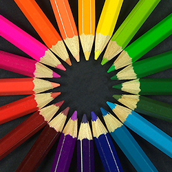 Coloring Pencils CREDIT: Michael Maggs