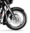 Arlen Ness Big-Wheeler Front Fender for Harley-Davidson