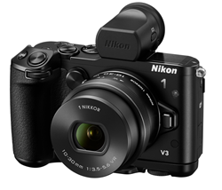 Nikon 1 V3 Mirroless Digital Camera at B&H Photo Video