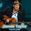 James Taylor Tickets for Concerts in Buffalo, Oklahoma City, Memphis,...