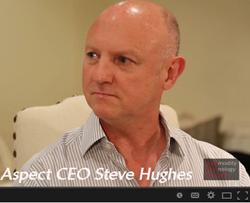 Aspect CEO Steve Hughes